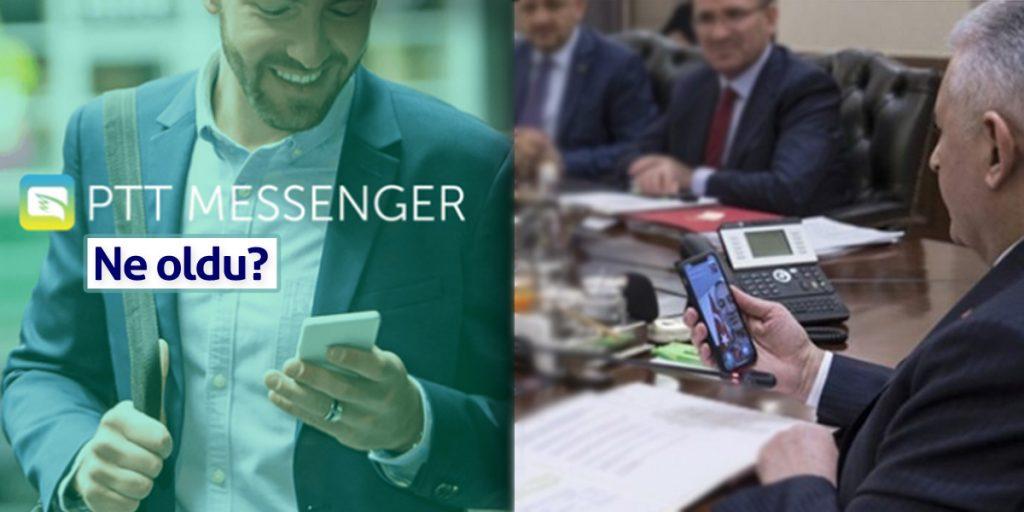 Şimdi akıllarda o soru: PTT Messenger'a ne oldu?